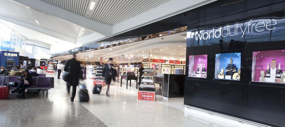 Image result for edinburgh airport world duty free