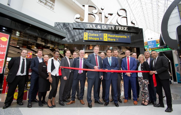 3d7e071284 Manchester Airport  s redesigned Biza Tax   Duty Free shop - World Duty Free